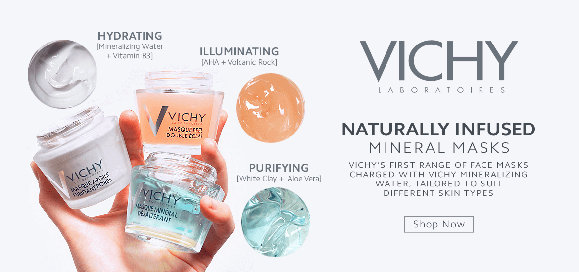 New Vichy Mineral Masks