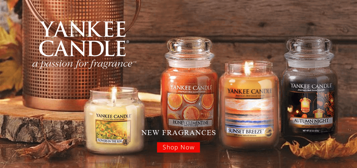 YanKee Candle New Scents