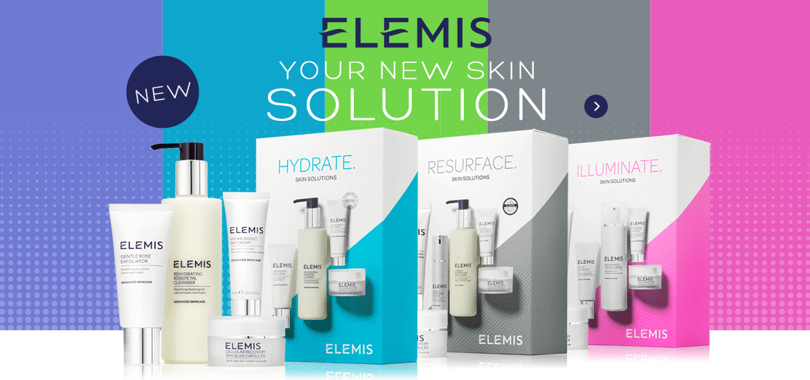 Elemis New Skin Solution Sets banner