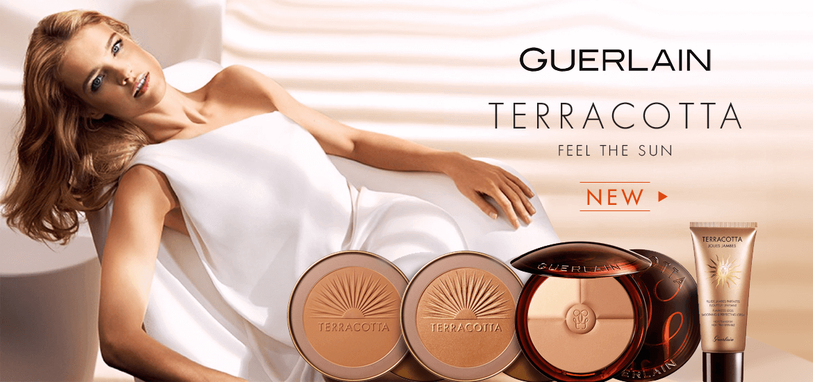 Guerlain New Terracotta products