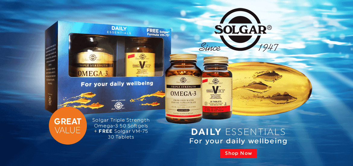 Solgar Daily Essentials - Great Value pack