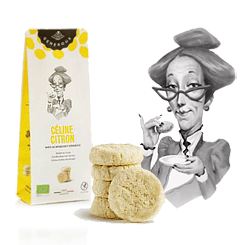Generous Celine Citron Lemon Butter Shortbread