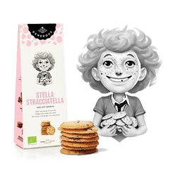 Generous Stella Stracciatella Tea Biscuits with Chocolate Drops