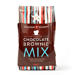 Delicious Alchemy Gluten & Dairy Free Chocolate Brownie Mix
