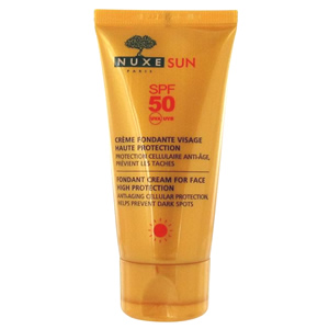 Nuxe Sun Fondant Cream For Face High Protection SPF50