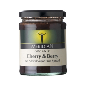 Meridian Organic Cherries And Berries Spread
