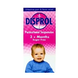 Disprol Infant Suspension 3months - 6year