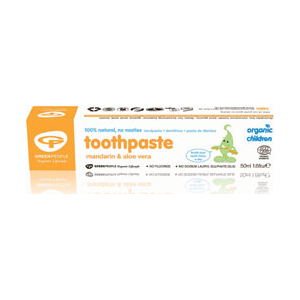 Green People Organic Mandarin Toothpaste