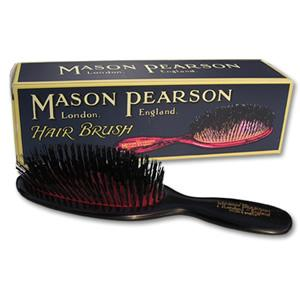 Mason Pearson Pocket Bristle B4 Hairbrush - Dark Ruby