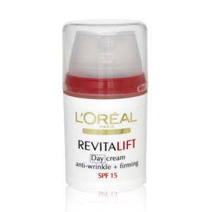 L'Oreal Paris Revitalift Anti-Wrinkle + Firming Day cream SPF15