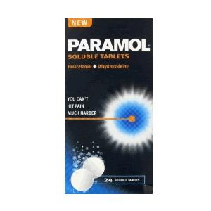 Paramol Soluble Tablets