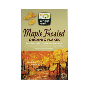 Whole Earth Organic Maple Frosted Flakes