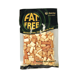 Sunrise Fat Free Mini Plain Rice Crackers