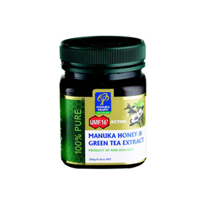 Manuka Health Active Umf 16+ Manuka & Green Tea Honey