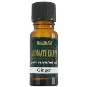 HealthAid Single Oil - Ginger Oil (Zingiber officinalis)