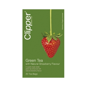 Clipper Green Tea With Strawberry