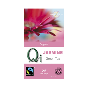 Qi Organic Fairtrade Jasmine Tea