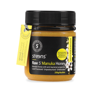 Steens Wellbeing 5+ Active Manuka 250g