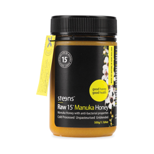 Steens Wellbeing 15+Active Manuka