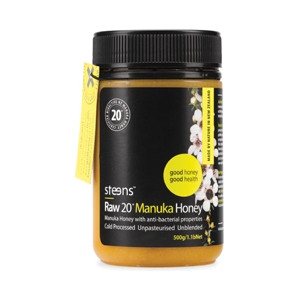 Steens Wellbeing 20+ Active Manuka