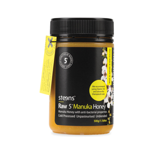 Steens Wellbeing 5+ Active Manuka