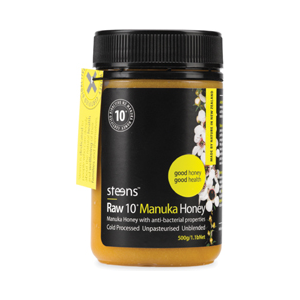 Steens Wellbeing 10+ Active Manuka