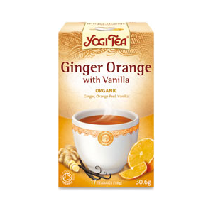 Yogi Tea Ginger Orange with Vanilla Organic