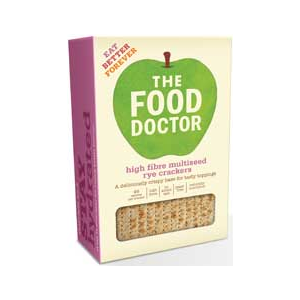 The Food Doctor Crackers High Fibre Multiseed Rye Cracker