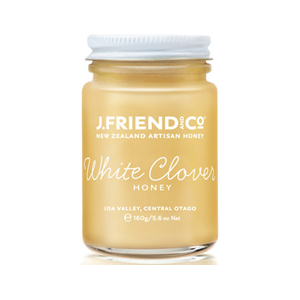 J Friend Organic White Clover Honey