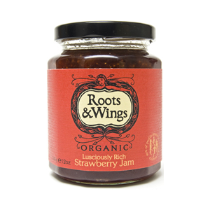 Roots & Wings Organic Strawberry Jam