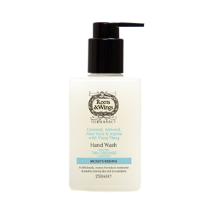Roots & Wings Organic Coconut, Aloe, Almond & Jojoba Hand Wash