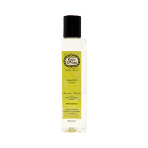 Roots & Wings Organic Grapefruit & Mint Shower Wash