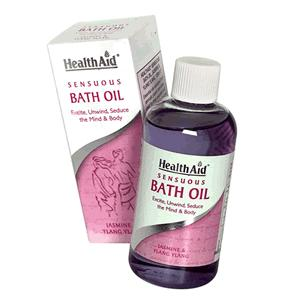 HealthAid Bath Oil - Sensuous Bath Oil