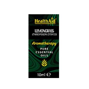 HealthAid Single Oil - Lemongrass Oil (Cymbopogon citratus)