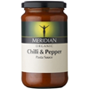 Meridian Organic Chilli And Pepper Pasta Sauce