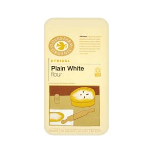 Doves Organic Plain White Flour
