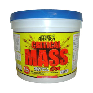 Applied Nutrition Critical Mass Strawberry 4400g