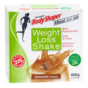 Body Shapers (Weider) Weight Loss Shake Chocolate 15 x 30g