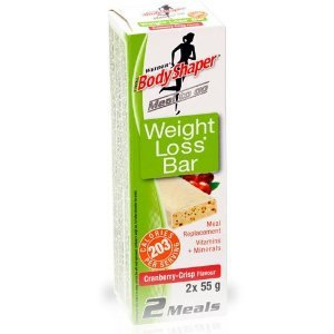 Body Shapers (Weider) Weight Loss Bar Cranberry Crisp
