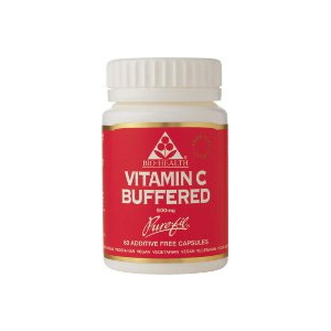 Bio-Health Buffered Vitamin C - 500mg Capsules