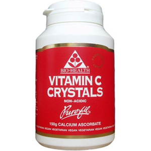 Bio-Health Buffered Vitamin C Crystals 150gm