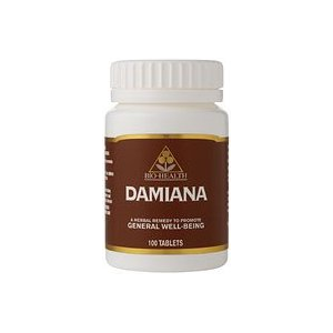 Bio-Health Damiana Tablets