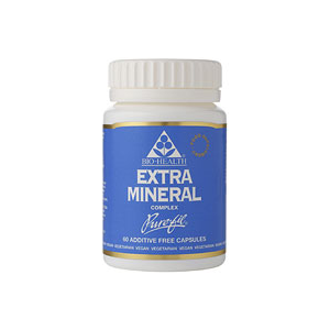 Bio-Health Extra Iron in Vegetable Capsules 60 Caps