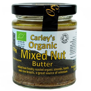 Carley's Organic Mixed Nut Butter