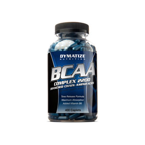 Dymatize Nutrition BCAA Complex 2200 400 Capsules