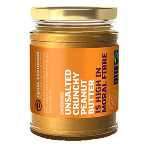 Equal Exchange Organic Fairtrade Crunchy Peanut Butter