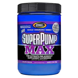 Gaspari Superpump Max Grape Cooler 640g