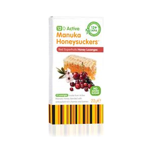 GreenBay Harvest 12+ Red Superfruits Manuka 8 Lozenges