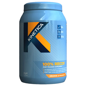 Kinetica 100% Recov Strawberry/Vanilla 1000g