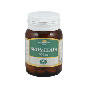 Natures Own Bromelain 100mg Tablets